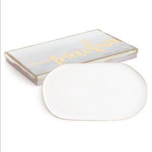Pacifica tray- white